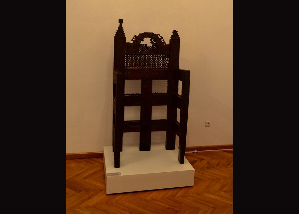 History Museum - Throne of Lapusneanu