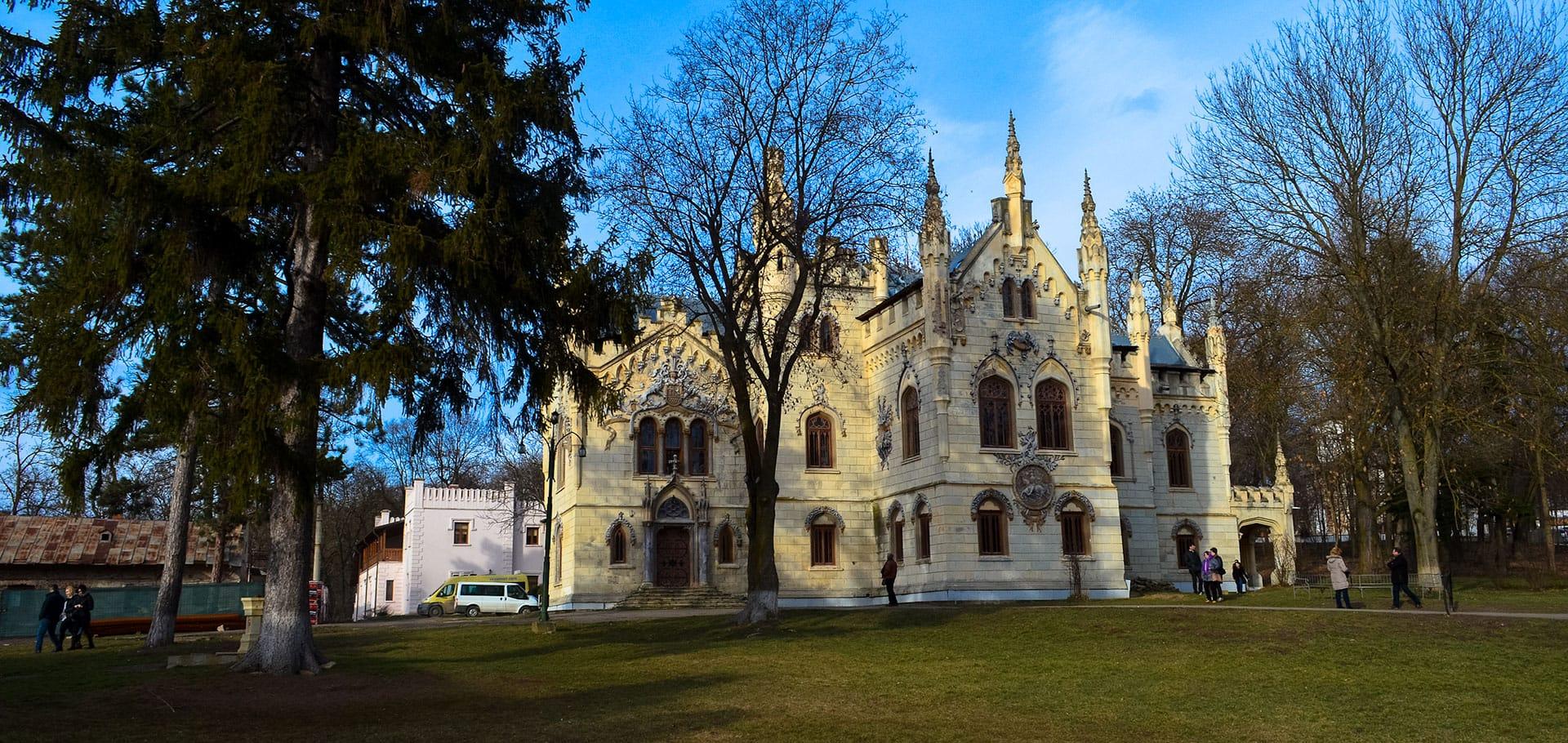 Sturdza Castle in Miclauseni
